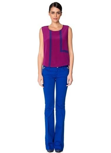 NetWork Bluz Fuşya
